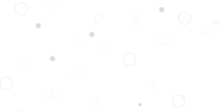 Network of Connected Users Background